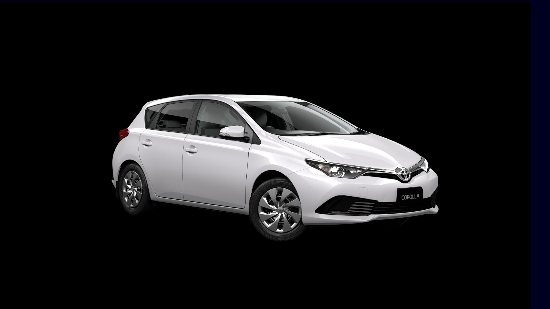Toyota Corolla Hatch Ascent Acorn Rentals